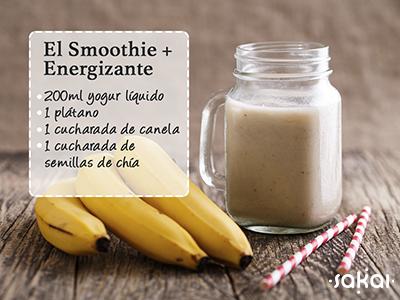El smoothie más energizante receta exclusiva Sakai