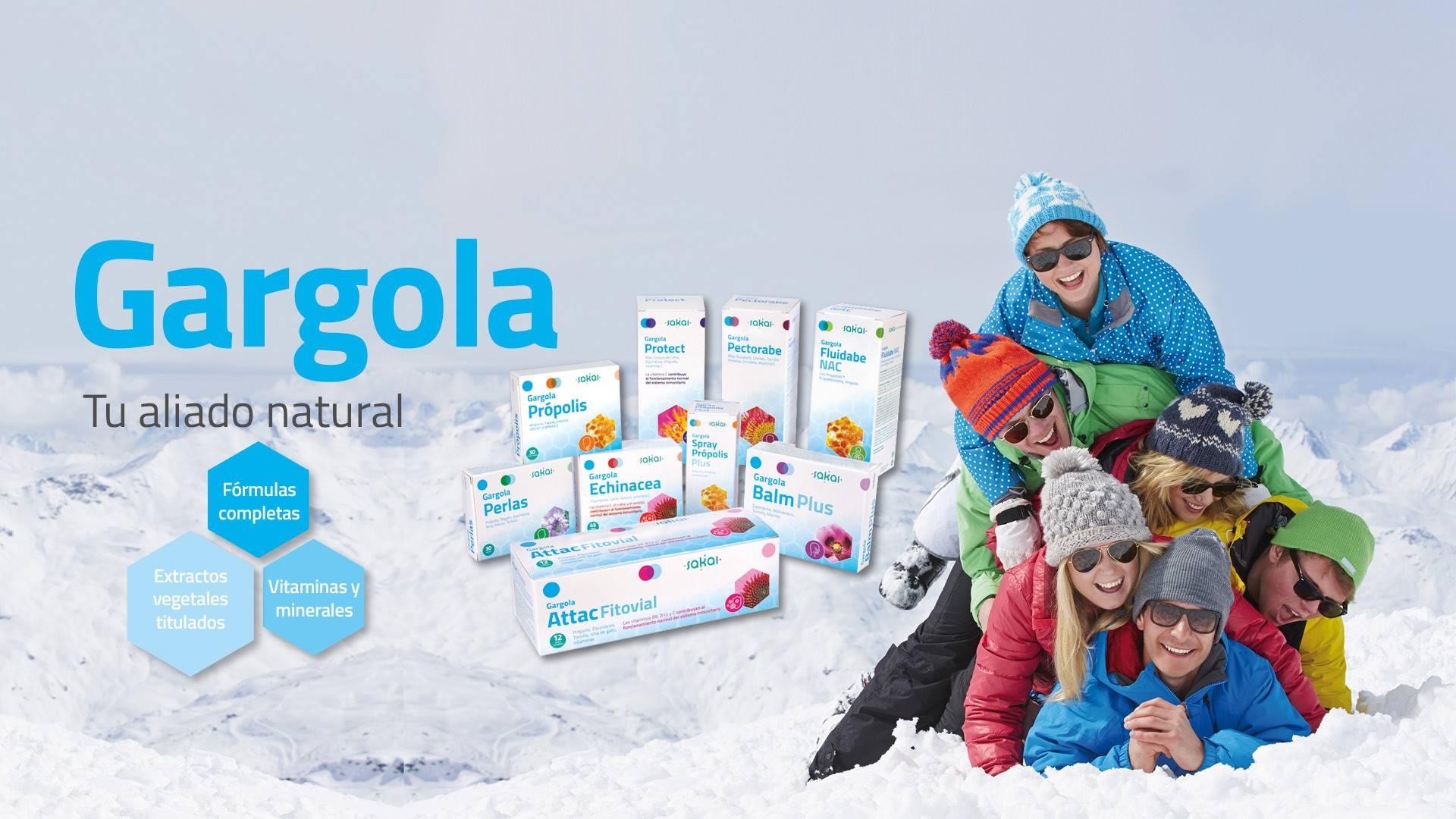 Gargola tu aliado natural para las estaciones frías