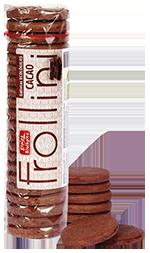 Frollini cacao ecológico  sin aceite de palma