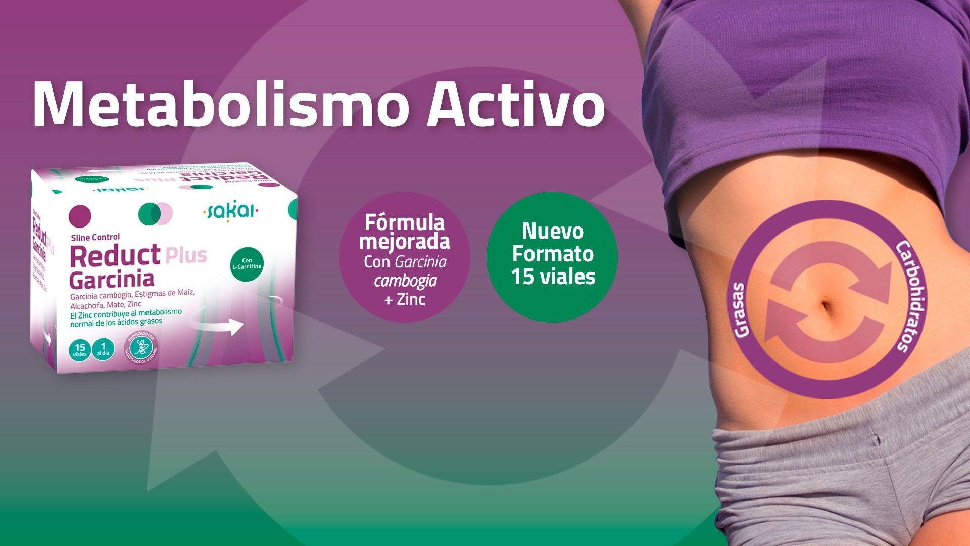 Sline Control Reduct Plus Garcinia - Metabolismo Activo