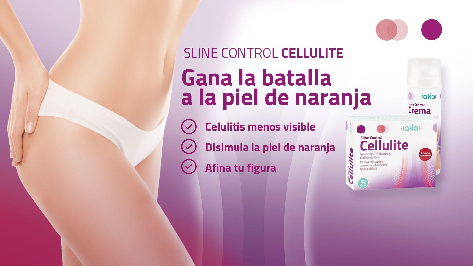 Sline Control Cellulite gana la batalla a la piel de naranja y a la celulitis