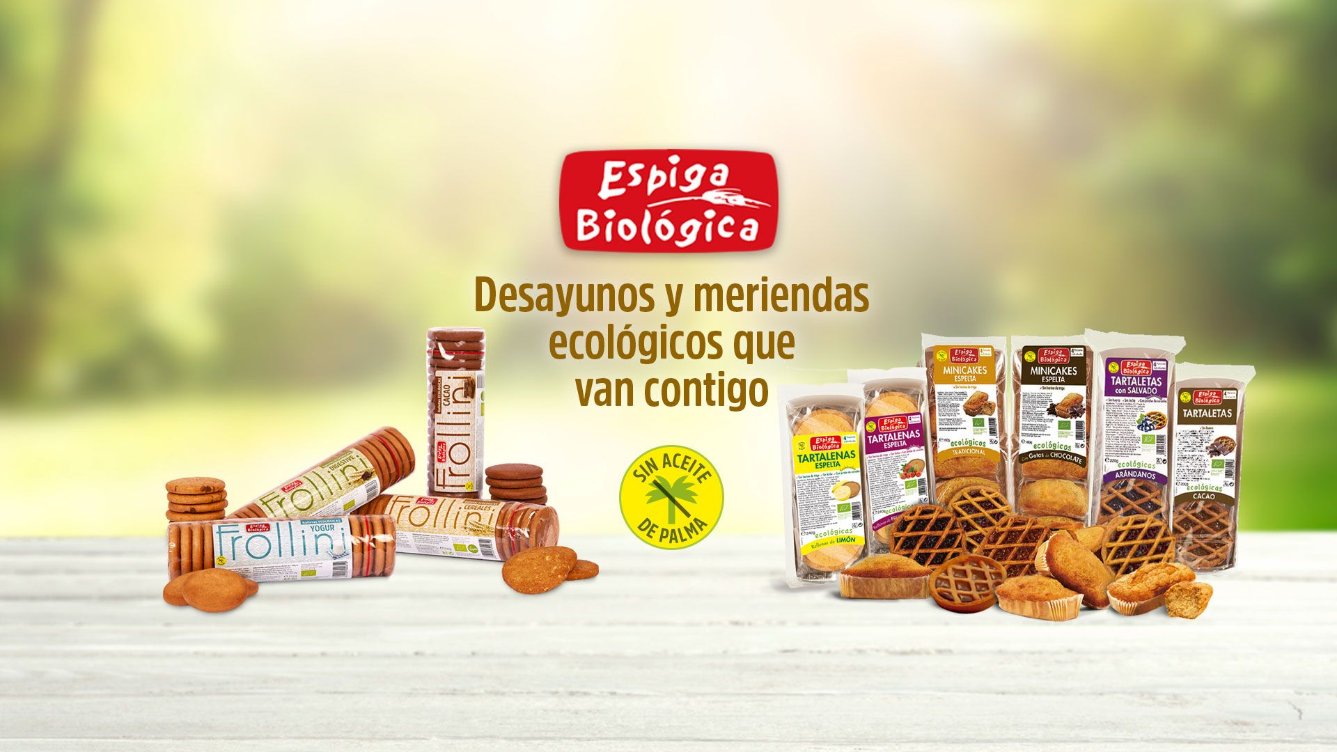 Espiga  Biológica, desayunos y meriendas ecológicos sin aceite de palma