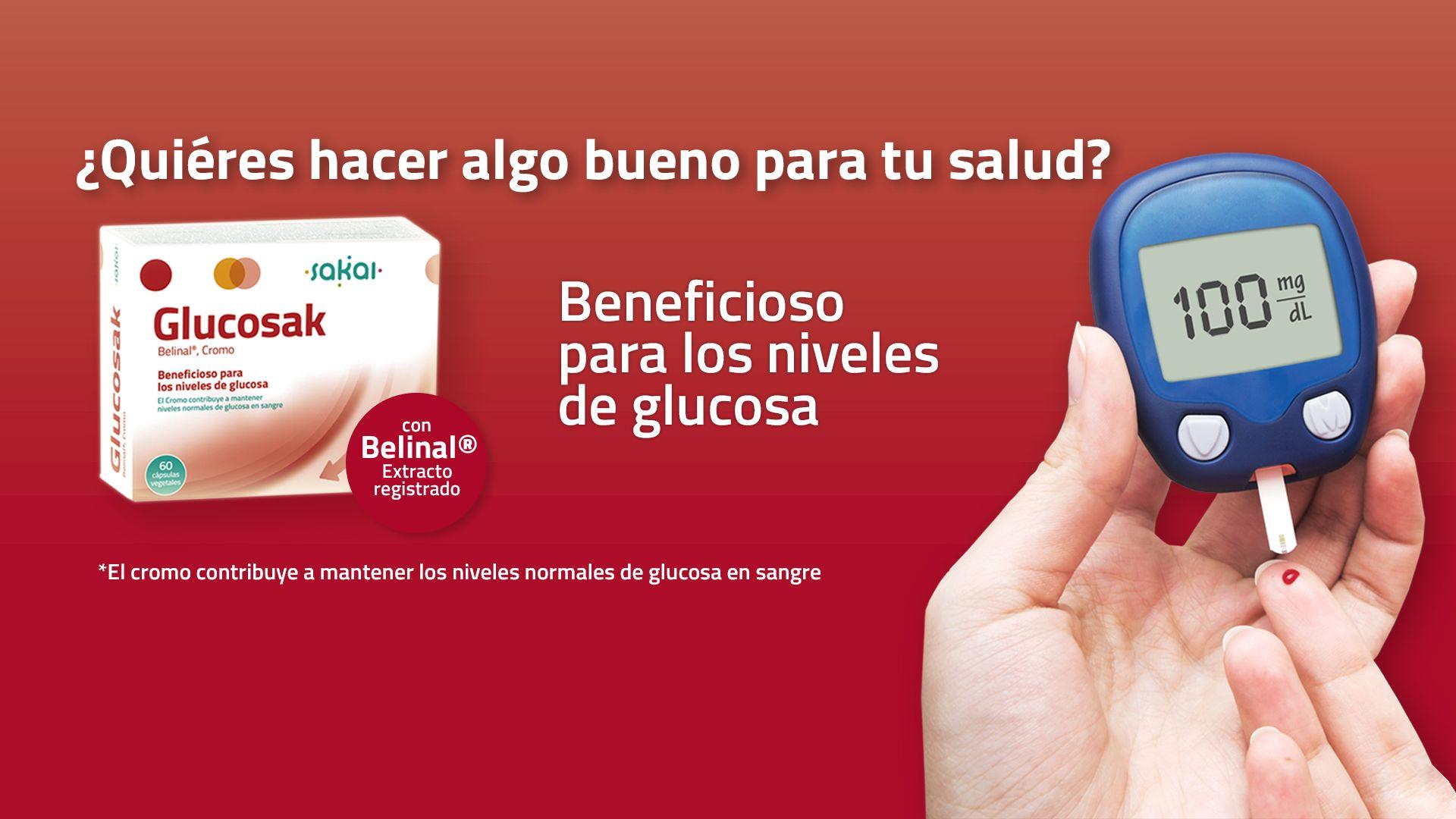 Glucosak - Beneficioso para los niveles de glucosa
