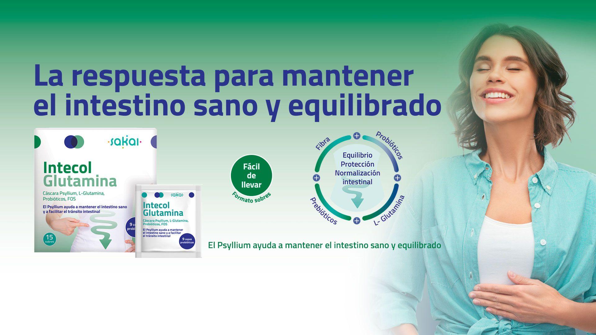 Intecol Glutamina: protege y activa tu intestino