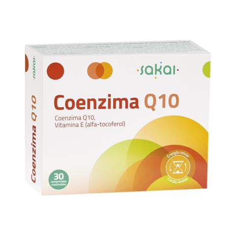 Coenzima Q10 Sakai energía celular